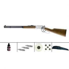 Umarex Legends .177 BB CO2 Cowboy Rifle Polished Chrome Kit