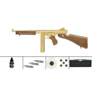 Umarex Legends M1A1 Legendary Gold Finish CO2 BB Submachine Gun Kit