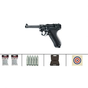 Umarex Luger P08 CO2 Air Pistol Kit