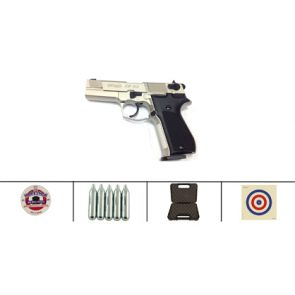 Walther CP88 4 CO2 Air Pistol, Nickel Kit