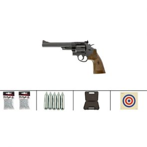 Smith & Wesson M29 6.5 CO2 BB Pistol Kit